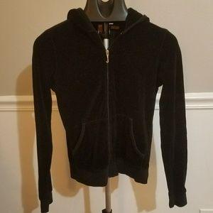 Juicy velour sweatshirt